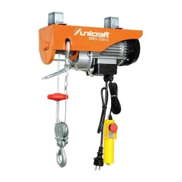 Troliu electric cu cablu Unicraft MES 250-2