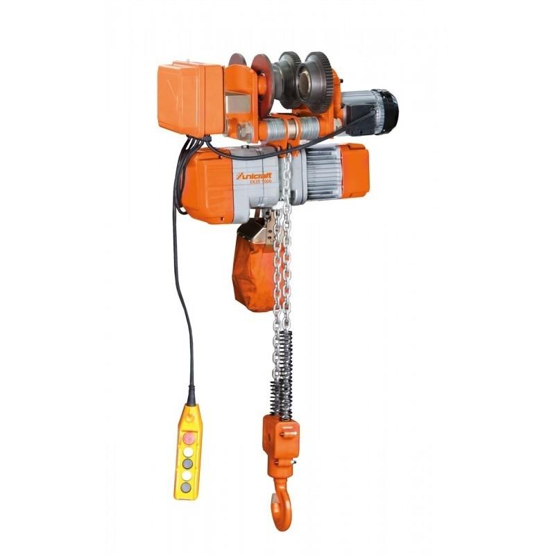 Troliu electric cu lant Unicraft EKZF 1000