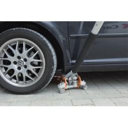 Este ideal pentru ridicarea autovehiculelor sport cu garda joasa